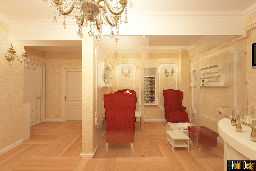 Interior design beauty salon in Luxembourg - Luxury interior designers, commercial architecture