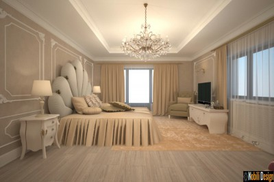 Bedroom luxury interior design