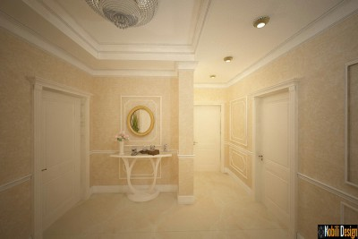Luxury classic apartment interior design in Dubai