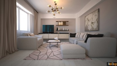 Interior design moderno dell'appartamento