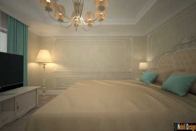 Luxury boutique hotel rooms design