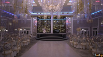 Wedding restaurant interior design