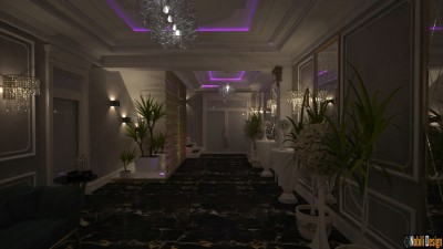Wedding restaurant interior design Budapest hungary