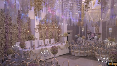 Wedding restaurant interior design London UK