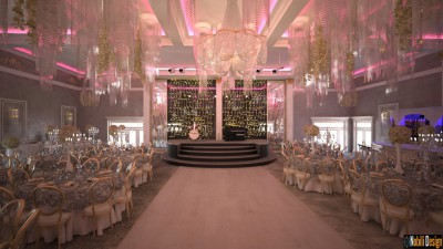Wedding restaurant interior design Paris Frace
