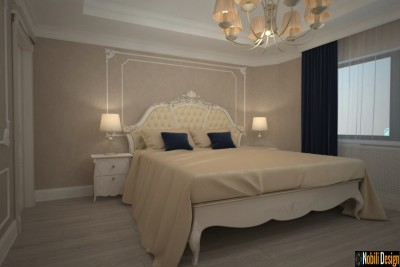 Interior design for the classic hotel room