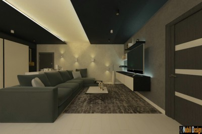 Interior Design For Modern Apartment In Marseille France