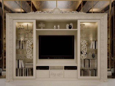Classic luxury living room furniture Opera - Italian Living Room Furniture