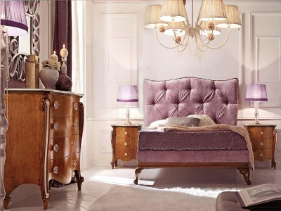 Classic luxury bedroom furniture Claire - Italian bedroom furniture Avenanti