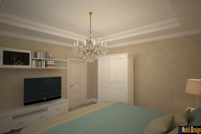 Interior design for the classic house in Tirana